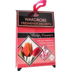 Pan Aroma Wardrobe Freshener Sachets vonné sáčky do skříně Fresh Flower 2 kusy