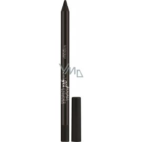 Deborah Milano 2in1 Gel Kajal & Eyeliner Waterproof tužka na oči 01 Black 1,5 g