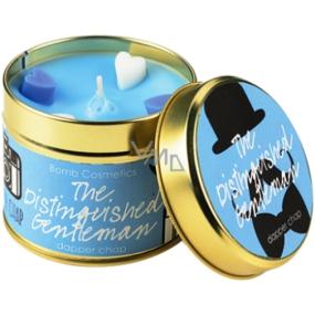 Bomb Cosmetics Distingovaný gentleman - The Distinguished Gentleman Vonná přírodní, ručně vyrobena svíčka v plechové dóze hoří až 35 hodin