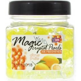 Kempa Magic Crystal Citrus Fruits gelové kuličky osvěžovač vzduchu 150 g