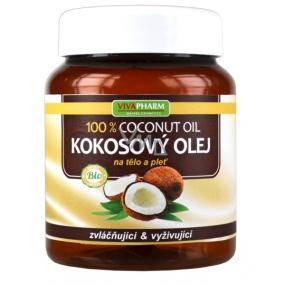 Vivapharm Bio Kokosový olej 100% na tělo a pleť pro suchou až atopickou pokožku 380 ml