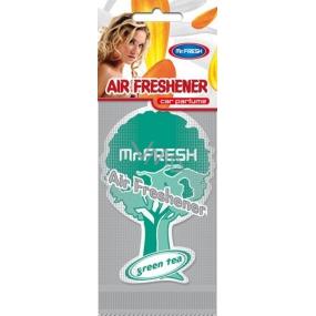Mister Fresh Car Parfume osvěžovač vzduchu závěsný Green Tea 1 kus