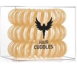 HH Simonsen Hair Cuddles Gold gumičky do vlasů zlaté 3 kusy