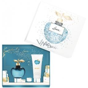 Nina Ricci Nina Luna toaletní voda pro ženy 80 ml + tělové mléko 100 ml, dárková sada