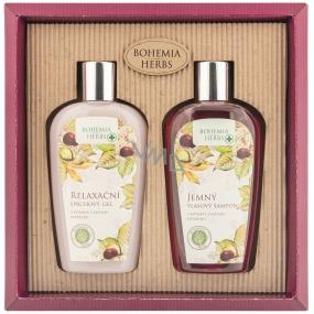 Bohemia Gifts Castanum Extrakt z kaštanu koňského sprchový gel 250 ml + šampon na vlasy 250 ml, kosmetická sada