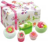 Bomb Cosmetics Tři malí ptáčci balistik 2x160 g + špalíček 50 g + košíček 30 g + mýdlo 100 g, kosmetická sada