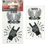 Tetovací obtisky Rock 10,5 x 6 cm