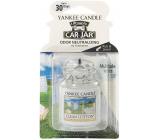 Yankee Candle Clean Cotton - Čistá bavlna gelová vonná visačka do auta 30 g