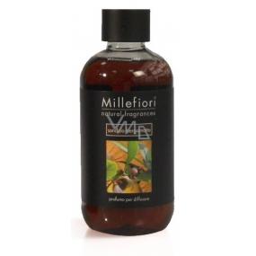 Millefiori Natural Sandalo Bergamotto - Santálové dřevo a bergamot Náplň difuzéru pro vonná stébla 250 ml