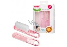 Baby Farlin Kartáček a hřebínek pro děti od 0+ měsíců BF-150