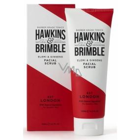 Hawkins & Brimble Men pleťový peeling s jemnou vůní elemi a ženšenu 125 ml