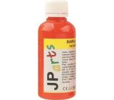 JP arts Barva na textil na světlé materiály, základní odstíny 2. Oranžová 50 g