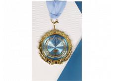 Albi Papírové přání do obálky Přání s medailí - Jsi nejlepší