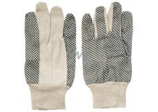 Spokar Bavlna s terčíky rukavice pracovní 1 pár