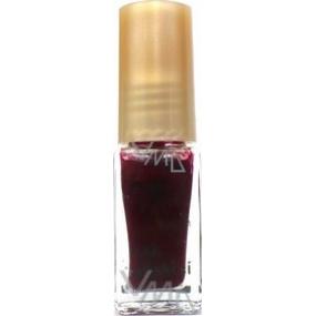 Kopretina zdobící lak na nehty odstín vínový 6 ml