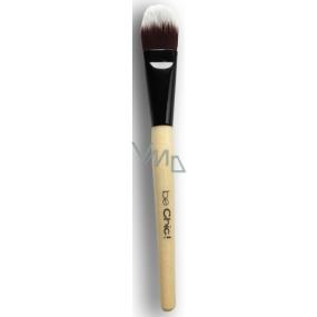 Be Chic! Professional White B 04 kosmetický štětec na make-up, syntetický vlas 19 cm