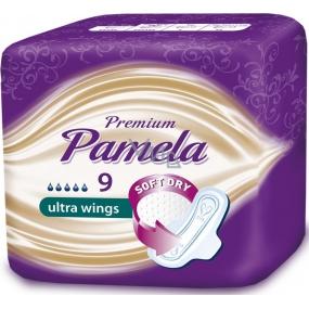 Pamela Premium Ultra Wings hygienické vložky s křidélky 9 kusů