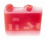 Bomb Cosmetics Santa - Santa Baby Přírodní glycerinové mýdlo 100 g