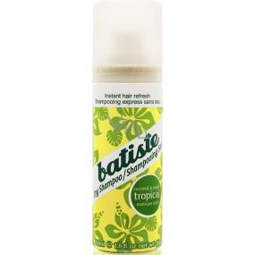 Batiste Tropical Dry Shampoo suchý šampon na vlasy 50 ml