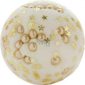 Bomb Cosmetics Zlatá perla Máslová kulička do koupele 30 g