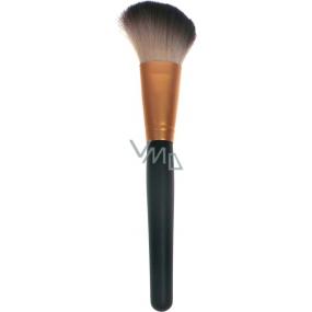 Kosmetický štětec na tvářenku šikmý 30450 černo-měděný 19 cm