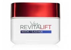 Loreal Paris Revitalift Noční hydratační péče proti vráskám + pro zpevňení pleti noční krém 50 ml