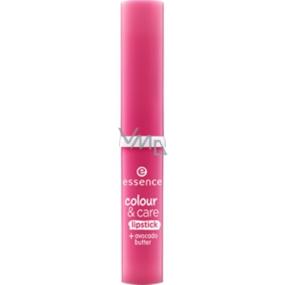 Essence Colour & Care rtěnka na rty pro intenzivní barvu 07 Rock Your Lips 1,9 g