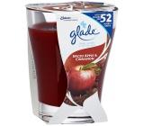 Glade by Brise Spiced Apple vonná velká svíčka ve skle 224 g
