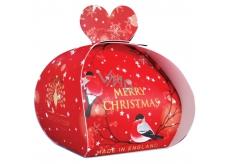 English Soap Veselé Vánoce mýdlo parfémované s bambuckým máslem 3x20g