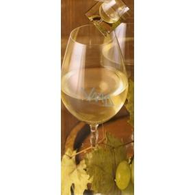 Nekupto Dárková papírová taška na láhev 33 x 10 x 9 cm víno 1330 01 KFLH