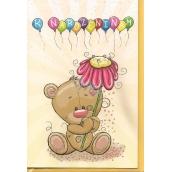 Nekupto Přání k narozeninám Medvídek G 31 3372 F