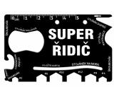 Albi Multinářadí do peněženky Super řidič 8,5 cm × 5,3 cm × 0,2 cm.