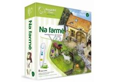 Albi Kouzelné čtení interaktivní hra Na farmě s 3D stodolou a zvířátky