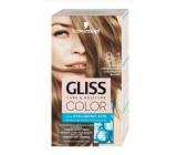 Schwarzkopf Gliss Color barva na vlasy 8-1 Chladný střední blond 2 x 60 ml
