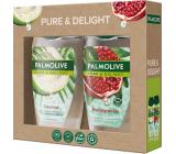 Palmolive Pure & Delight Coconut sprchový gel 250 ml + Pure& Delight Pomegranate sprchový gel 250 ml, kosmetická sada