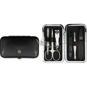 Kellermann 3 Swords Luxusní manikúra 6 dílná Articial Leather z vysoce kvalitní umělé kůže Black 7845 F N
