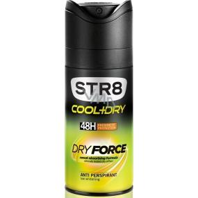 Str8 Cool + Dry Dry Force 48h antiperspirant deodorant sprej pro muže 150 ml