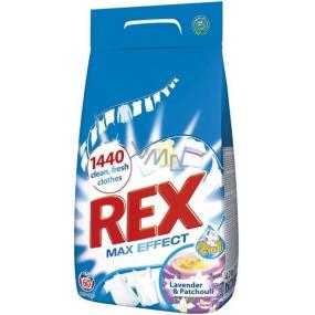 Rex Max Effect Lavender & Patchouli prací prášek 60 dávek 4,2 kg