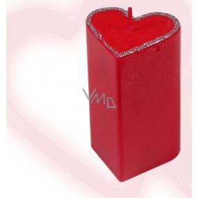 Lima Valentýnská vonná svíčka srdce velké 1 kus
