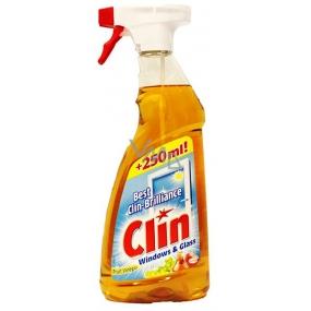 Clin Windows & Glass Fruit Vinegar čistič na okna a sklo rozprašovač 750 ml