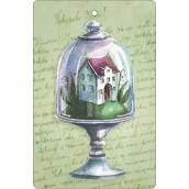 Bohemia Gifts & Cosmetics Aromatická vonná karta Domeček 10,5 x 16 cm