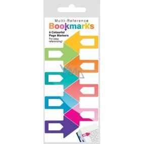 If Multi Reference Bookmarks Záložky do knihy Barevné 38 x 1,5 x 25 mm