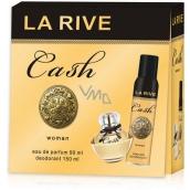 La Rive Cash Woman parfémovaná voda 90 ml + deodorant sprej 150 ml, dárková sada