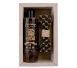 Bohemia Gifts & Cosmetics Sailor Pivní kvasnice a chmel sprchový gel 250 ml + dřevěný motýlek, kosmetická sada