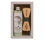 Bohemia Gifts & Cosmetics Rybář Olivový olej sprchový gel 250 ml + dřevěný motýlek, kosmetická sada