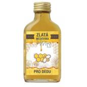 Bohemia Gifts & Cosmetics Zlatá medovina 18% Pro dědu 100 ml