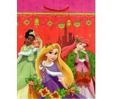 Ditipo Disney Dárková papírová taška pro děti M 3 princezny 23 x 9,8 x 17,5 cm