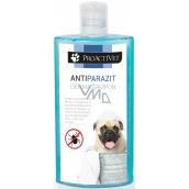 Proactivet Antiparazit derma šampon spolehlivě hubí blechy, klíšťata a vši, má repelentní účinek 250 ml