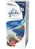 Glade Touch & Fresh Ocean Adventure osvěžovač vzduchu náhradní náplň s vůní oceánu 10 ml