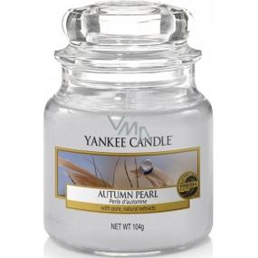 Yankee Candle Autumn Pearl - Podzimní perla vonná svíčka Classic malá sklo 104 g